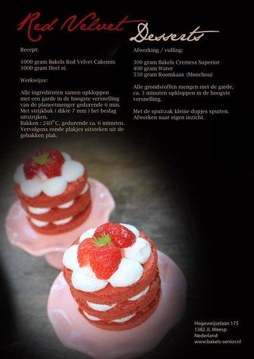Recept Red Velvet desserts