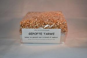 Gepofte tarwe 500 gram