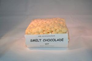 Smelt chocolade wit 500 gram