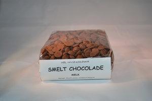 Smelt chocolade melk 500 gram