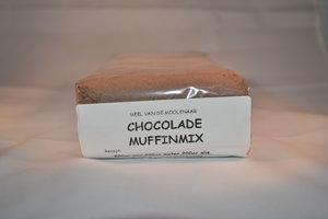 Muffinmix chocolade 1 kg