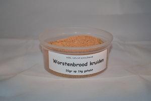 Worstenbrood kruiden 100 gram