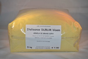Italiaanse durum bloem 5 kg