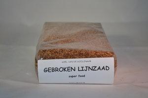 Gebroken lijnzaad 500 gram