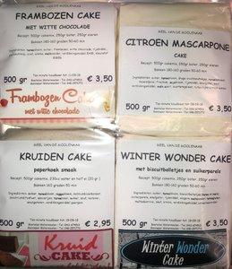 Luxe cake pakket