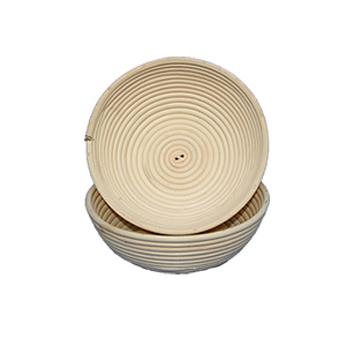 Deegrijsmand riet rond 1.000 g (Ø 220 mm)