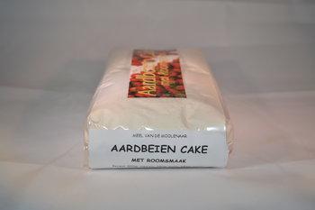 Aardbeien cake met roomsmaak 1 kg