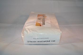Citroen mascapone cake 1 kg