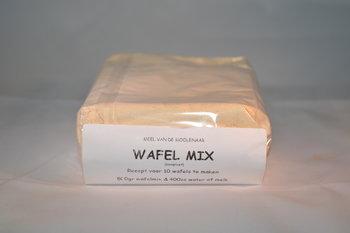 Wafel mix compleet 500 gram