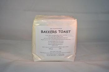 Bakkers toast 500 gram