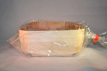 Houten cake/brood vormen 2 stuks