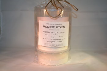 Mousse mixen 4 x 100 gram