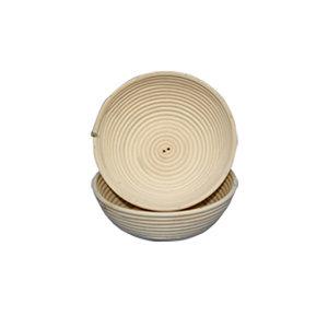 Deegrijsmand riet rond 500 g (Ø 190 mm)