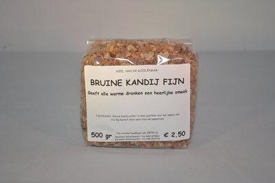 Bruine kandij suiker fijn 500 gram