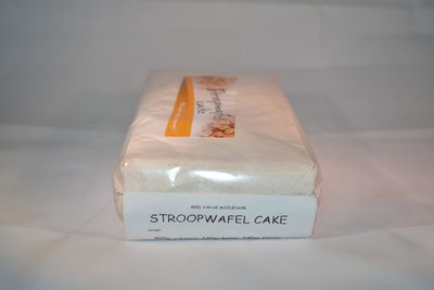 Stroopwafel cake 1 kg