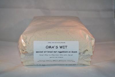 Oma's wit 2,5 kg