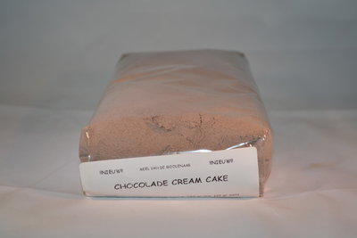 Chocolade cream cake 1 kg