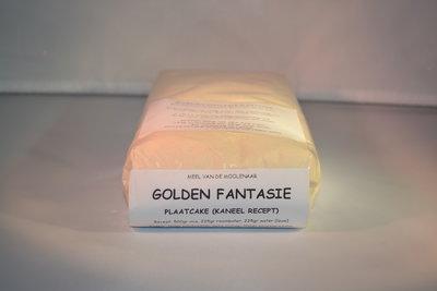 Golden fantasie plaatcake 1 kg