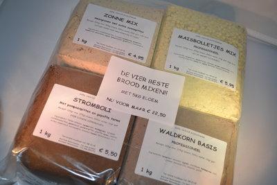 De vier beste brood mixen 9 kg